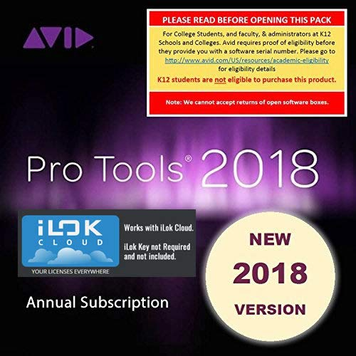 (Avid Pro Tools Annual Subscription Activation Card (Student/Teacher Boxed))