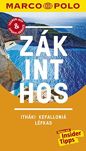 MARCO POLO Reiseführer Zákinthos, Itháki, Kefalloniá, Léfkas: Reisen mit Insider-Tipps. Inklusive kostenloser Touren-App & Update-Service