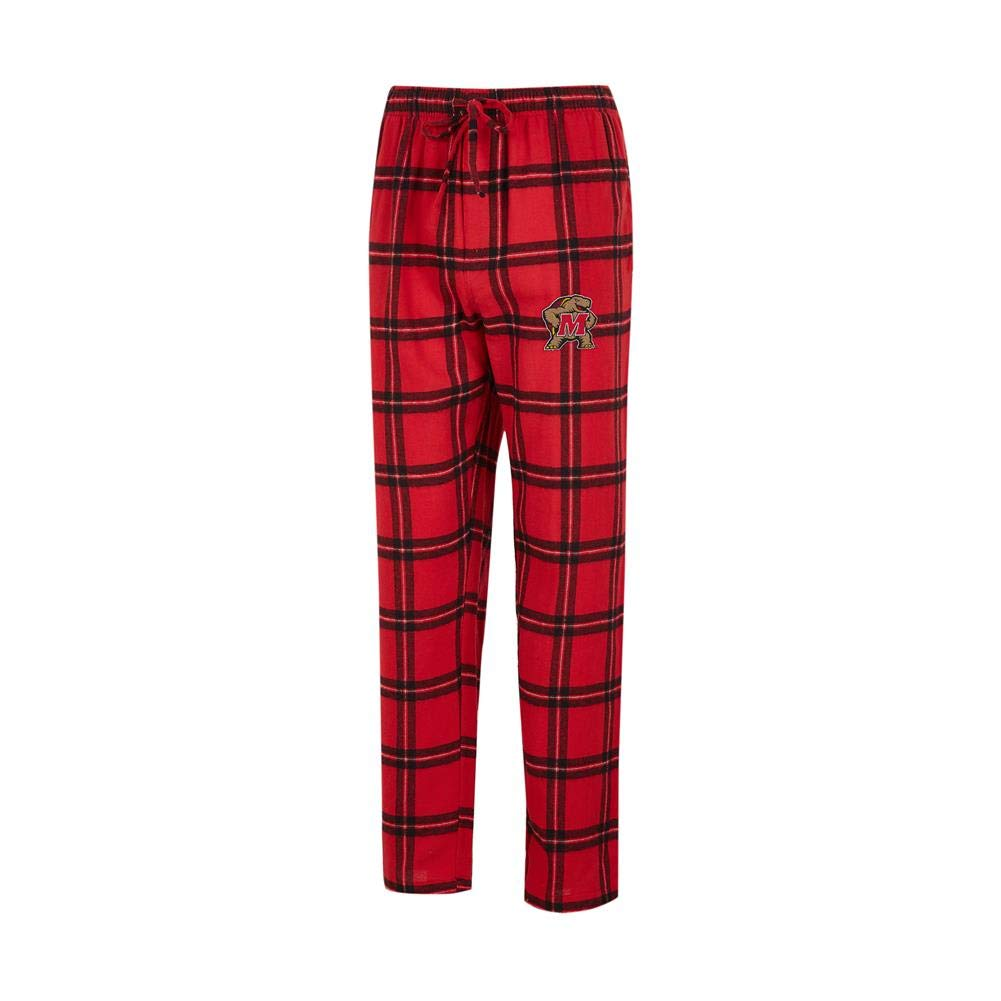 Concepts Sport University of Maryland Terps Men's Pajama Pants Plaid Pajama Bottoms (XX-Large) by Concepts Sport