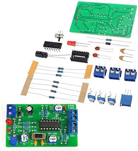 ffzhushengmy Electronics Module Parts 8038 Function Signal Generator DIY Waveform Generator Kit Electronic DIY Production Parts 3Pcs
