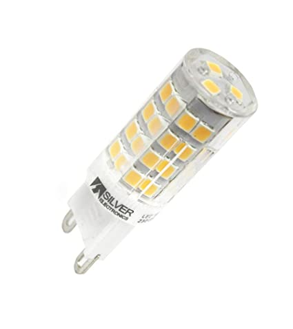 Silver Electronics Bombilla LED 5000K G9, 3.5 W, 5 x 1.6 x 0.03 cm