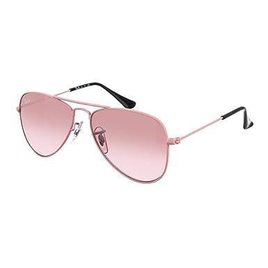 b8b421565 Óculos de Sol Ray Ban Infantil Aviador RJ9506S 211/7E-50: Amazon.com ...