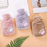 KUI RFSTGYU Hot Water Bottle with Cover - Rubber