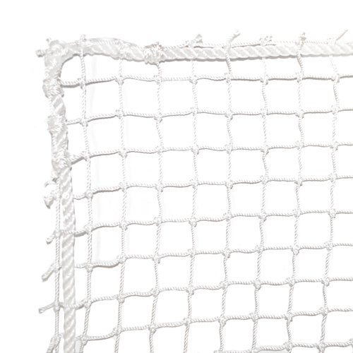 Dynamax Sports High Impact Golf Barrier Net, White, 10X15-ft