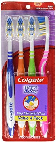 Colgate Zig Zag Medium Toothbrushes