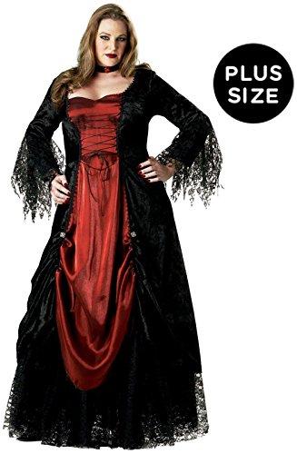InCharacter Gothic Vampiress Costume - Plus Size 2X - Dress