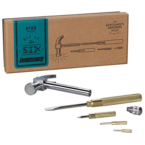 Gentlemen's Hardware Hammer & Screwdriver Multitool