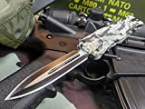 Venom Tiger Z Tactical Combat Knife - Double Edge