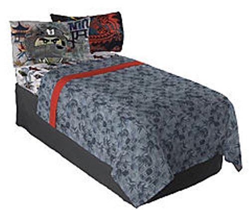 Price comparison product image LEGO Ninjago Movie Ninja Warriors Twin Bedding Sheet Set