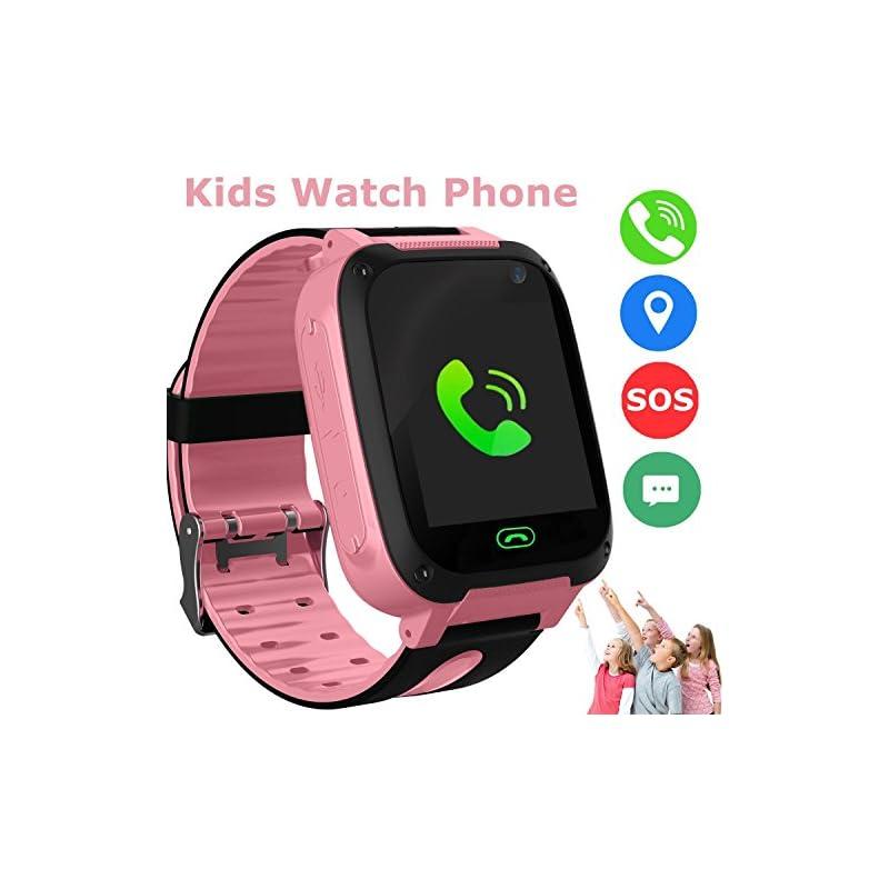 Kids Smart Watch Phone, GPS Tracker Smar