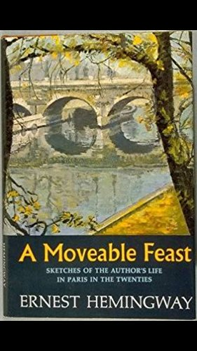 "Cover image for ""A Moveable Feast"" by Ernest Hemingway"