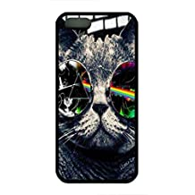 iPhone 5 Phone Case,Pink Floyd Cat TPU Case for iPhone 5 5s Design for Fashion Unique BT-SB personality case