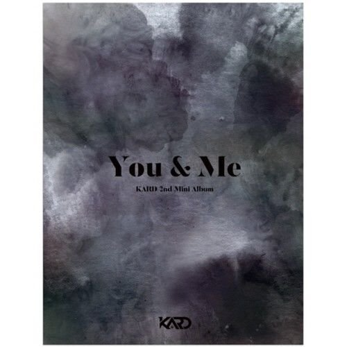 KARD - [You&Me] 2nd Mini Album CD+76p Booklet+2p PhotoCard K-POP SEALED