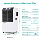 Kesnos 234 Pint Commercial Dehumidifier for