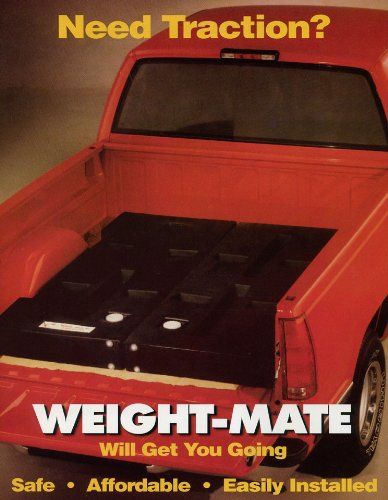 Amazon com: Weight-Mate Pick Up Truck Traction Weights By