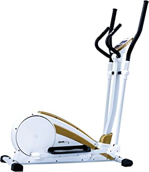 SportPlus Crosstrainer Sp-et-9700-e - Elíptica de fitness, color blanco