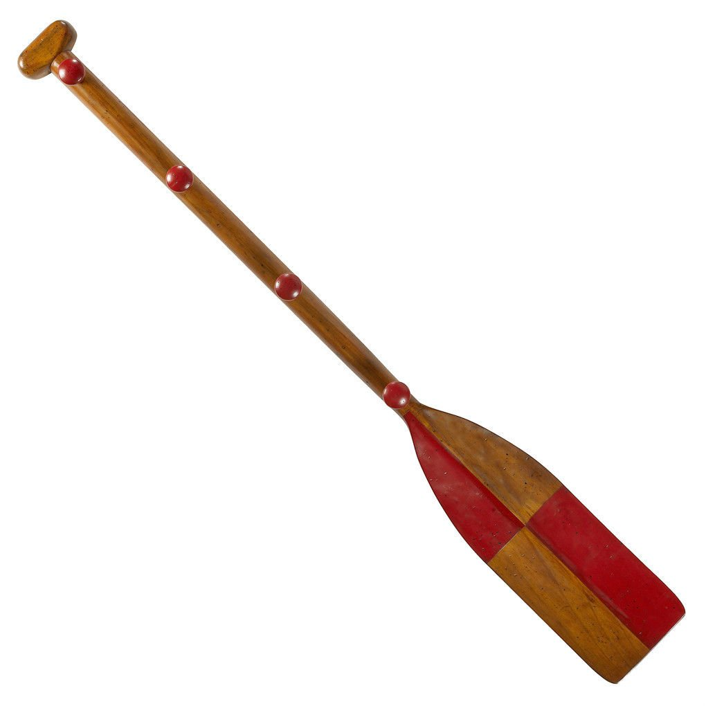 Amazon.com: Rojo Madera Oar Paddle Kids perchero 47 ...