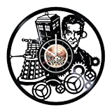 Doctor Who Vinyl Record Wall Clock - Home - Best Reviews Guide