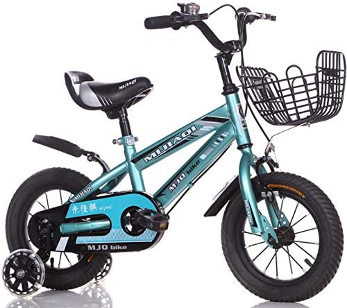 TX Bicicleta para Niños Aleación De Aluminio Rueda Auxiliar Cesta Delantera, 2-5 Años Ajustable