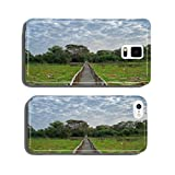 Brazilian Panantal skyline and wooden footbridge cell phone cover case Samsung S5