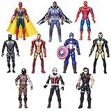 Boenxin Marvel Superhero Adventures Ultimate Super Hero Set, 10...