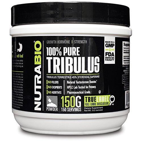NutraBio 100% Pure Tribulus Terrestris порошок - 150 грамм