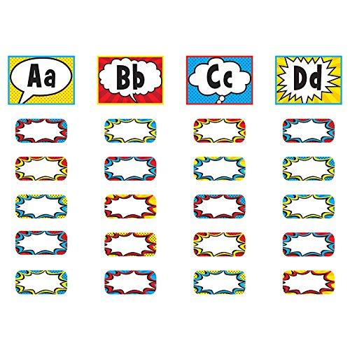Teacher Created Resources Superhero Alphabet Word Wall Bulletin Board (5847)