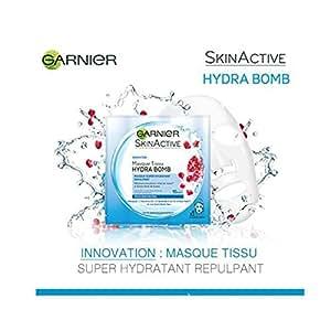 GARNIER Hydra bomb Skin Active Tissu a la grenade hydratant
