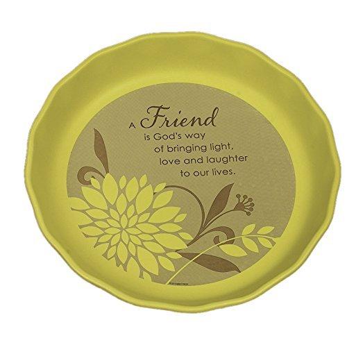 Abbey Press Friend Pie Plate - Inspiration Faith Blessing Spirit 56225T-ABBEY