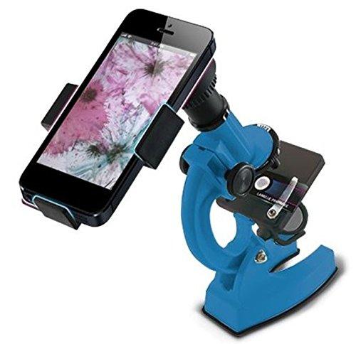 Konus STUDY-4 100x-450x-900x Biological Microscope,Blue/Black 5014 KONUSTUDY-4