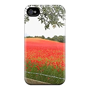 Iphone 6 A Field Of Poppies Print High Quality Frame Cases Covers