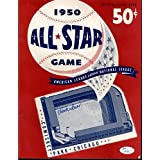 Hank Sauer Cubs Signed 1950 All Star Game Unscored Program - COA - JSA Certified - MLB Programs