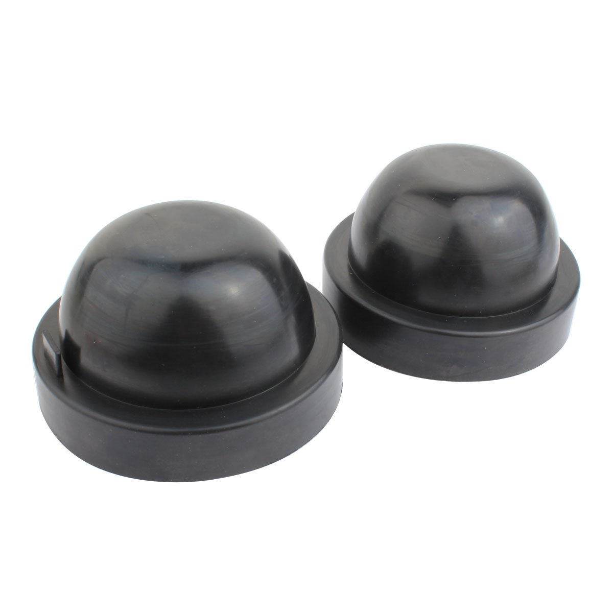 TOMALL 80mm 3.15 inch Rubber Seal Dustproof Covers for LED Headlight Conversion Kit
