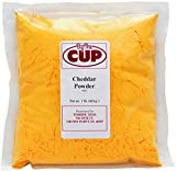 By The Cup Cheddar Cheese Powder 1 lb Bag