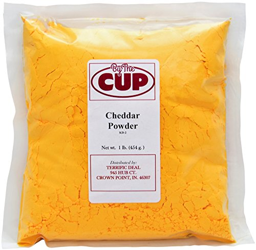 By The Cup Cheddar Cheese Powder 1 lb Bag by By The Cup