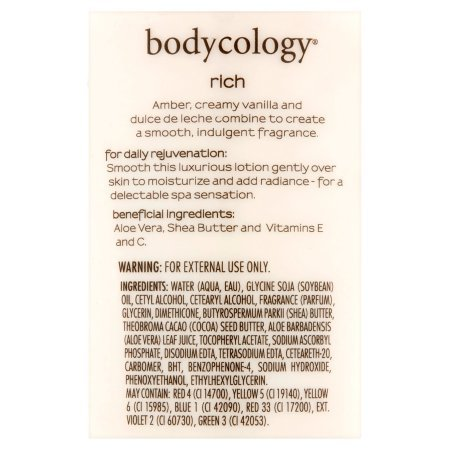 Amazon.com : PACK OF 12 - Bodycology Bronzed Amber Obsession Moisturizing Body Lotion, 12 oz : Beauty