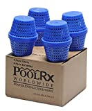 PoolRx 101003 4-Pack Blue Units Swimming Pool...