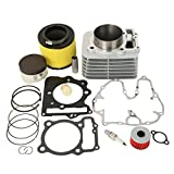 XFMT For Honda TRX400EX Piston Cylinder Gasket Rings Top End Kit Set 1999-2008 1999 2007