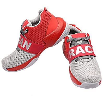 online store 7b248 894e4 Shoes For Men Casual Human Race Sneakers (Shoes449) (7, Red ...