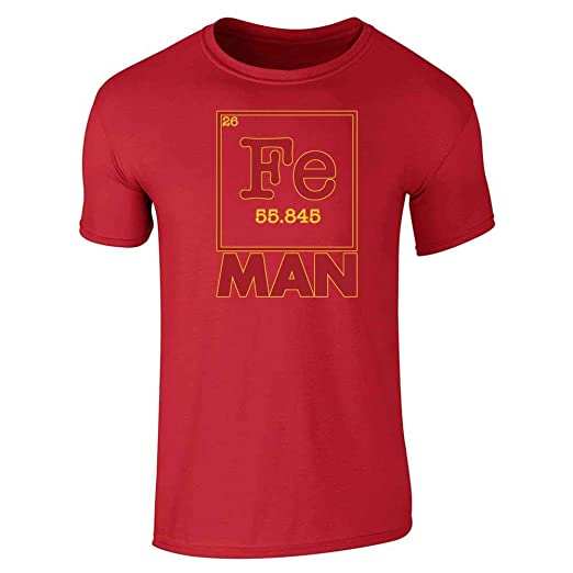 Bacon Periodic Table Symbol Elements Chart Science Class Men/'s V-Neck Ringer Tee