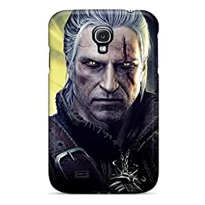 Amanlly Case Cover For Galaxy S4 - Retailer Packaging The Witcher 2 Assassins Of Kings Protective Case