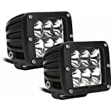Rigid Industries 50231 D2 Driving Light, (Set of 2)