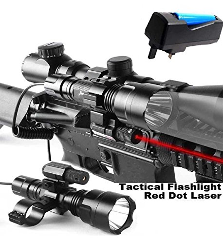 Maktheone Tactical Rifle Red Dot Laser with Cree XML T6 1200
