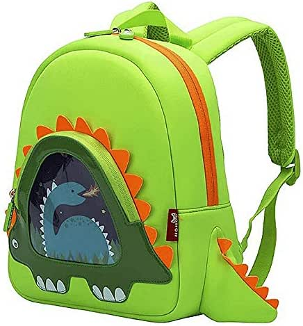 OFUN Toddler Backpack for Boys Girls, Dinosaur Backpack, School Bag for Kids, Waterproof