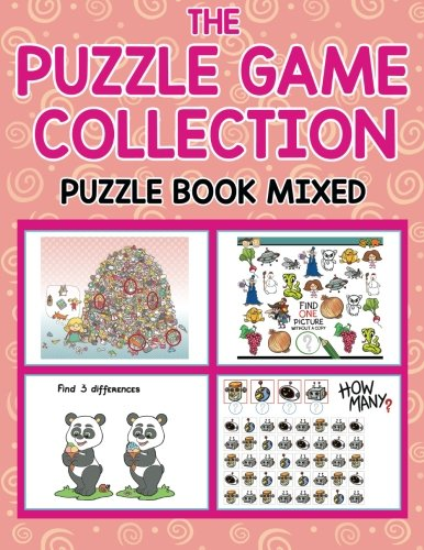 Puzzle Game Collection Book Mixed