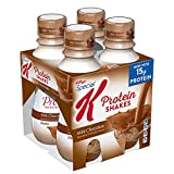 Special K Kellogg's Protein Shakes, Milk Chocolate, Gluten Free, 10 fl oz Bottles, 4 Count (Pack of 3)