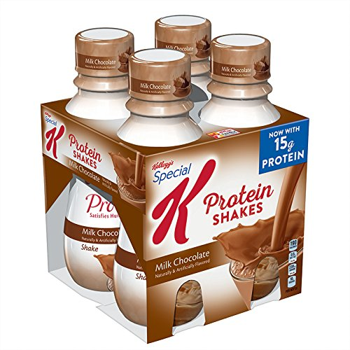 Special K Protein Shakes, Milk Chocolate, 4 Count (Pack of 3)