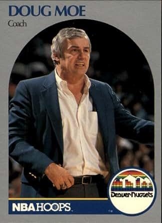 1990 Hoops Basketball Card (1990-91) #311 Doug Moe Mint