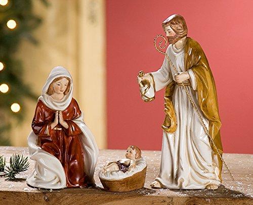 Gilde Heilige Familie aus Porzellan 25494 Weihnachten Advent Geschenkidee Dekoidee Weihnachtgeschenk Krippe Krippenfiguren Porzellan