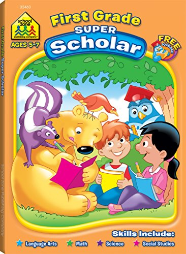 Super Scholar Wookbook-First Grade Ages - Jordan Orion 7